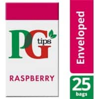 PG tips Raspberry Tea Bags 25 Pieces