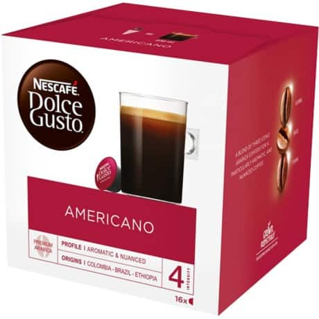 NESCAFÉ Dolce Gusto Coffee Pods Americano 16 pieces of 160 g