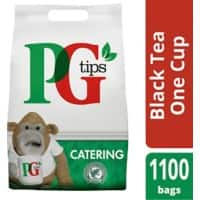 PG tips Black Tea 1100 Pieces
