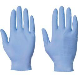 Supertouch Gloves nitrile size m Blue 100 pieces