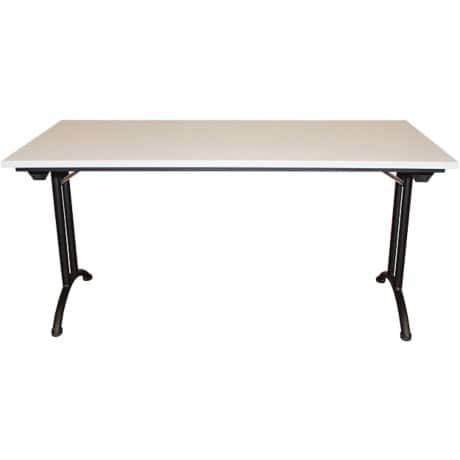 Realspace Folding Table Standard Light Grey 750 x 1,600 x 800 mm