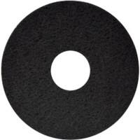 "Floor Maintenance Pads (Heavy Duty Wet Stripping) 17"" Black pack of 5"