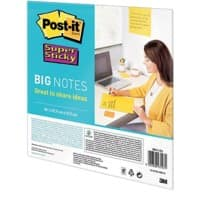 Post-it Super Sticky Notes 279 x 279 mm Yellow 30 Sheets