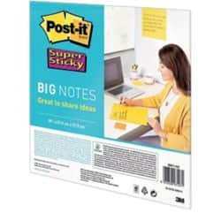 Post-it Super Sticky Notes Special format Yellow 95gsm 27.9 x 27.9 cm