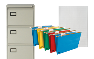 Cabinets and Hanging Files