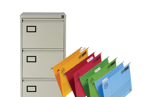 Office Supplies - Cabinets & Hanging Files