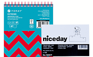 Notebooks & record cards
