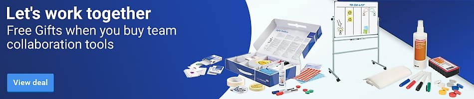 Free Gifts when you buy team collaboration toolsLet's work together