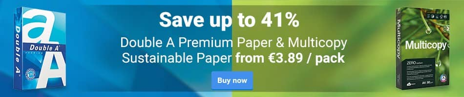 Double A Premium Paper & Multicopy Sustainable Paper