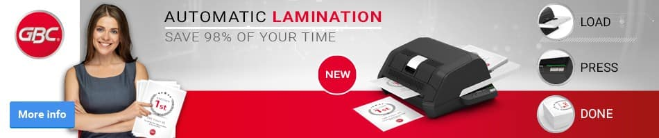 Load Press DoneAutomatic Lamination Save 98% of your time