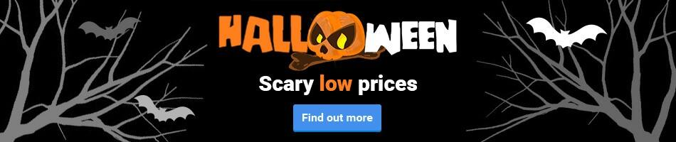 Halloween! Scary low prices