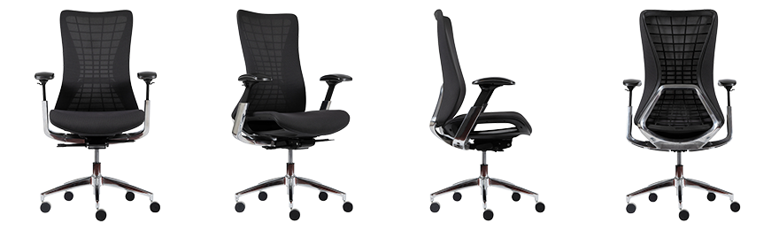 WorkPro Ergonomic Office Chair Cosmo Synchro Tilt