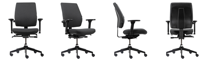WorkPro Ergonomic Office Chair Toulouse Synchro Tilt