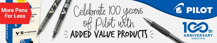 Celebrate 100 years of Pilot with added value products ›