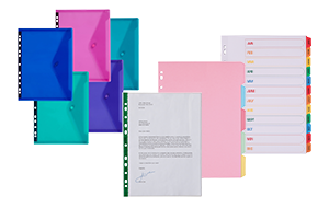 Lever Arch File and Ringbinder Accessories