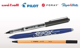 Rollerball & Fineliner Pens